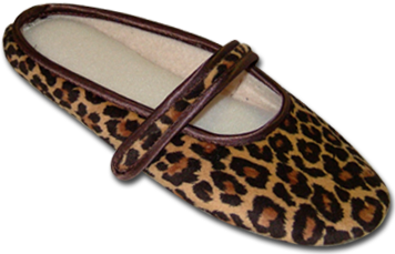 Picture of a leopard print ballet of Javerflex Factory