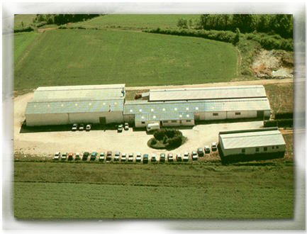 Sky picture of the Javerflex factory